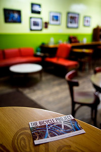 The Bicycle Project at the Red Cup Cafe