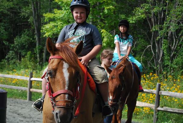 July 22: Horseback  Riding