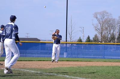 Oswego East Varsity baseball Vs Minooka 2013