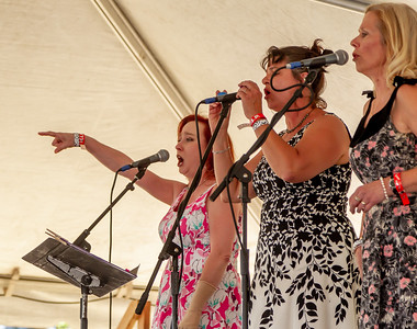 Set one: The Curvettes at the Beer Garden, Festival Sunday 2018