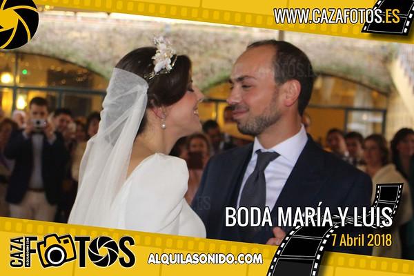 BODA MARIA Y LUIS - 7 ABRIL 2018