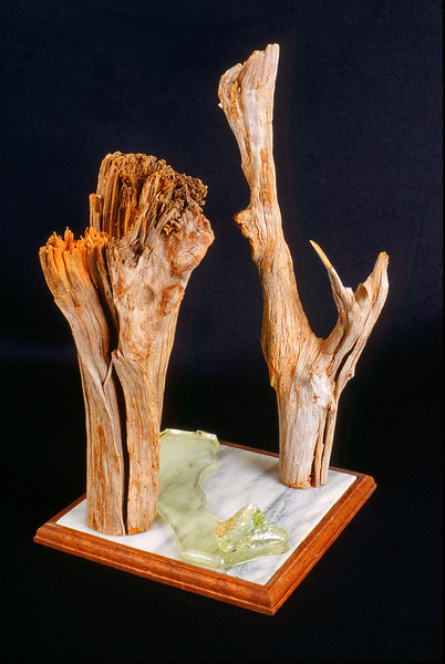 Cedar with Melting Glass