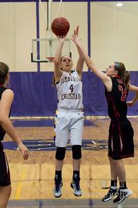 Varsity Girls Basketball: Katy Boyles Reaches 1,000 Points