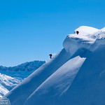 Höferspitze ski tour, Kleinwalsertal 2013-03-01