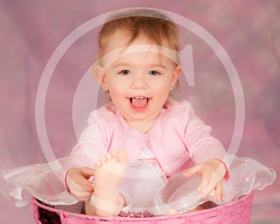 Alessa 15 months old