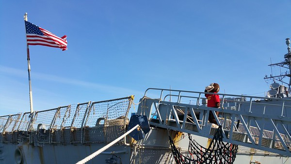 Curious George Visits the USS Roosevelt DDG 80