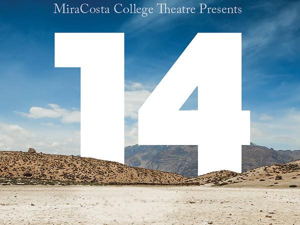 MiraCosta College Theatre Presents 14