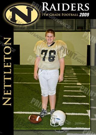 7th Grade Nettleton Football 2009