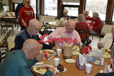 Senior Dining Christmas 2018