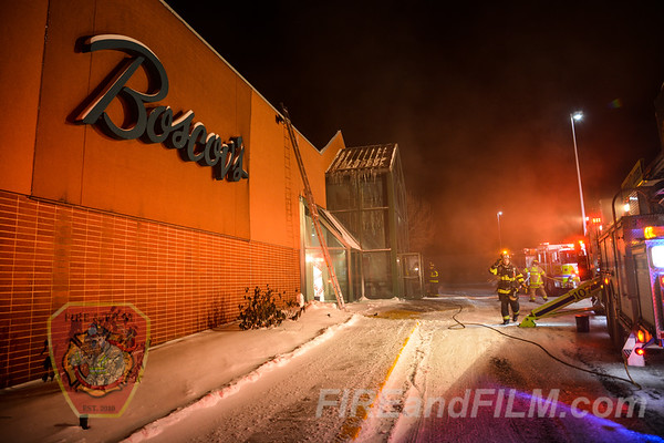 Luzerne County - Hazle Twp. - Business Fire - 01/31/2019