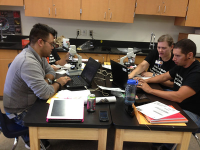 Secondary science teachers prepare for another great school year