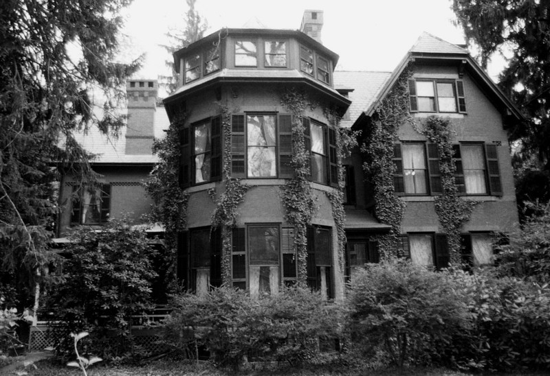 Photo #14 ~ 73 Stockton_Library Place side [The Addams Family manse?]