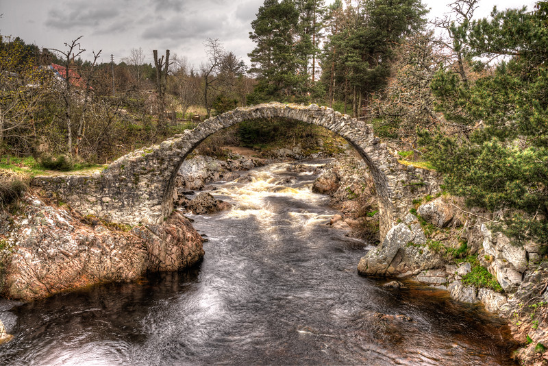 Carrbridge Old Bridge