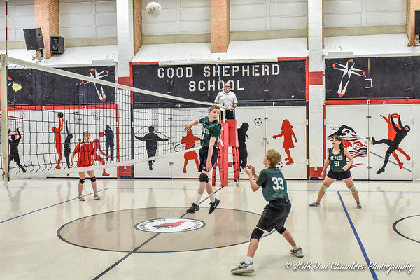 SPS Coed Volleyball 9-22-18