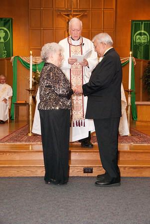 The 50th Wedding Anniversary of Charles and Luella Davis