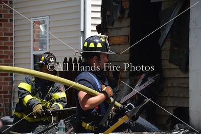 20130714 - Huntington Manor - House Fire