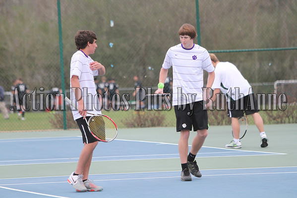 Darlington Varsity Boys Tennis 2012