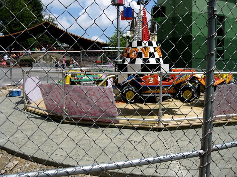 The Jump Around (Baja Buggy) is still under construction.
