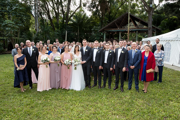 Amy&Brad: Group photos