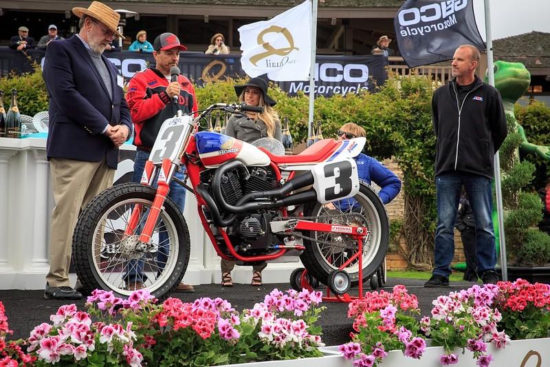 Quail Motorcycle Gathering - Award Winner - Honda Factory RS 750 Flat Tracker AMA Hall of Fame Heritage Award.jpg