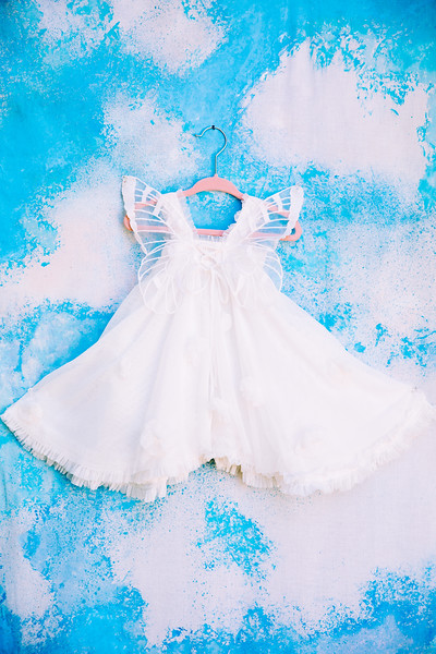 Toddler Butterfly Lace Dress