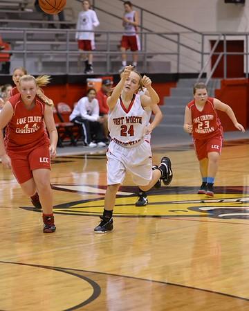 8th Girls basketball 12-13-2014