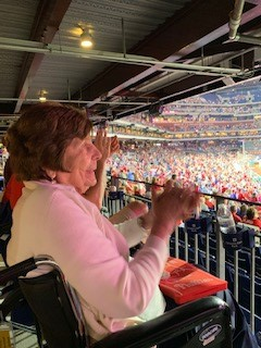 Yolanda Goes to a Phillies Game