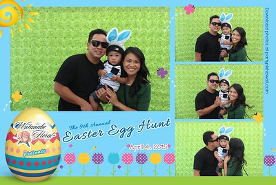Watanabe Floral Easter Egg Hunt 2015 (LED Open Air Photo Booth)
