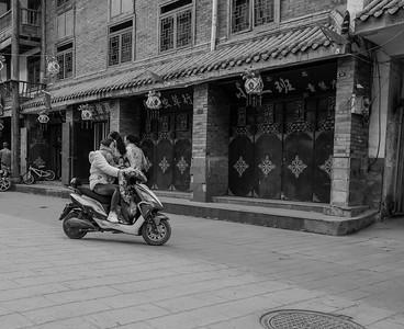 China B&W