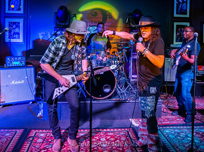 Anthony Gomes Shaw Davis at  Funky Biscuit 12.13.18