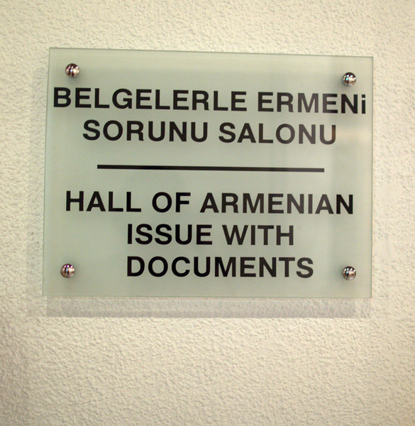 "The ""Armenian Issue"". No, this won't be awkward."