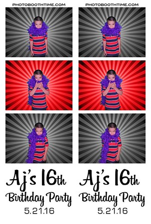 AJ's 16th birthday
