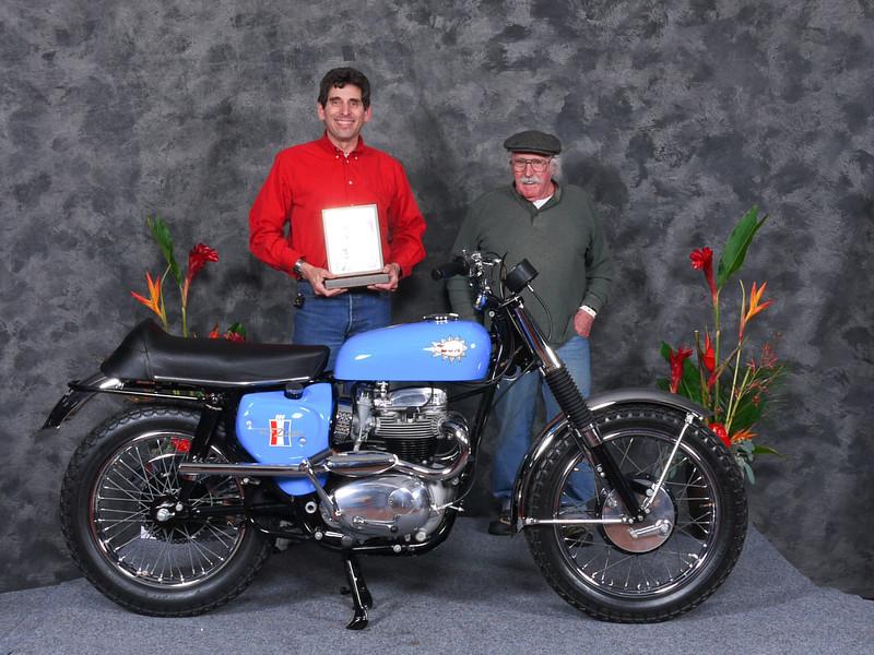 "GaryEdwards,""Speedway/Flattrack/TT 1946-1983, Production""1967 BSA A50 Wasp"