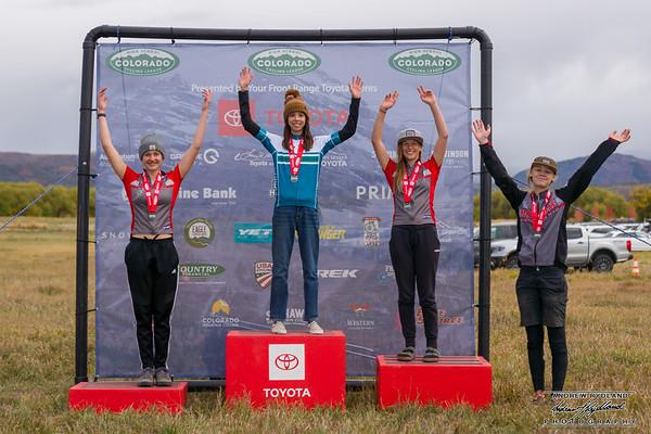 2021 Piedra Region - Eagle XC Race - Podiums