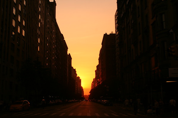 Manhattanhenge - July 12, 2016
