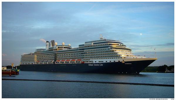 Cruise from Amsterdam to NYC on Holland America Eurodam
