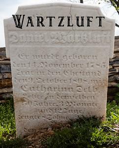 Wartzluft Burial Plot - Shoemakersville PA