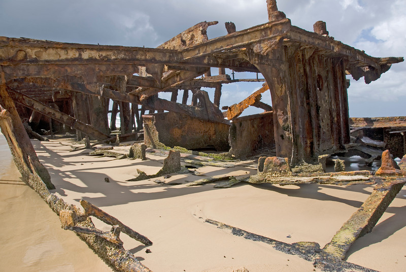 Shipwreck 2, Fraser Island - Queensland, Australia
