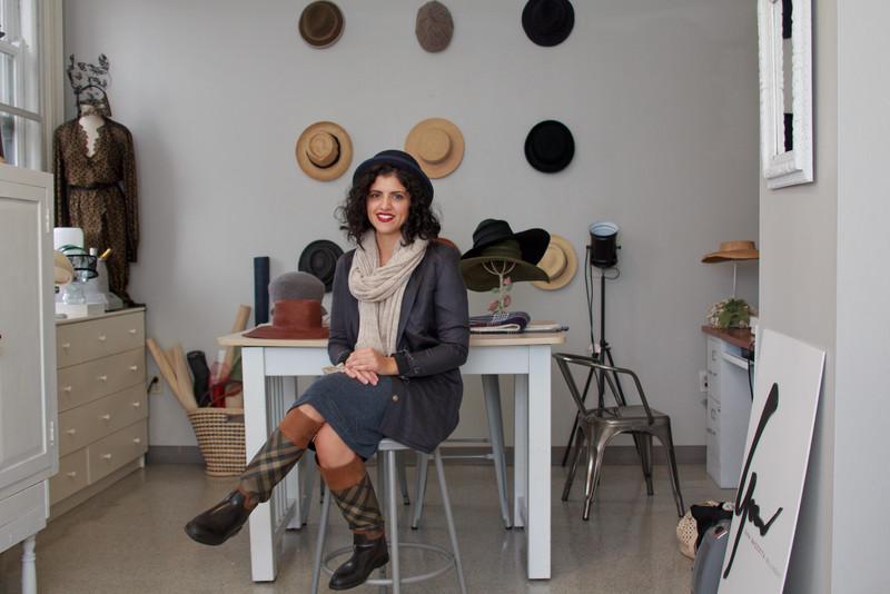 Gina Mazzotta In Her Studio