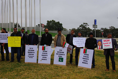 MQM Australia Protest July 2013