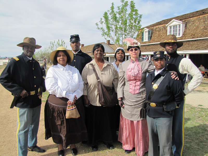 ARIZONA BUFFALO SOLDIERS, MESA, AZ...History of the Soldier, Fort Verde State Historic Park. Buffalo Soldiers of the Arizona Territory - Ladies and Gentlemen of the Regiment.  April 10, 2010