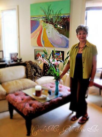 Carol McGill - Fine Art Open House 2010