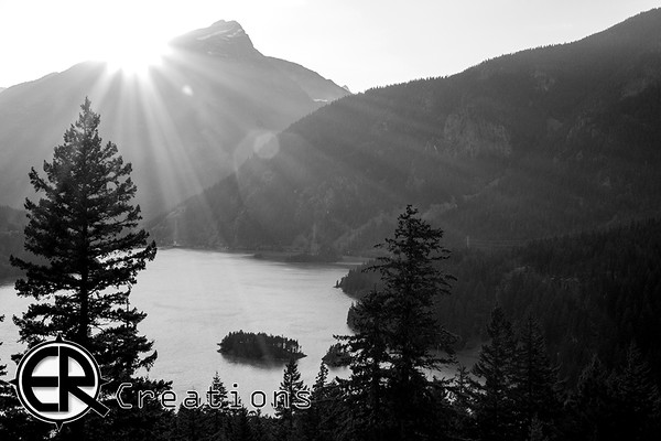 Diablo Lake Northern Cascade Mountains