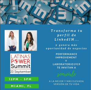 Sonrisa Latina - Latinas Power Summit