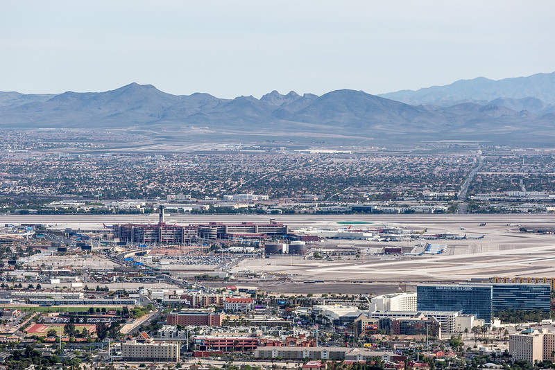 From Top of Stratosphere Hotel