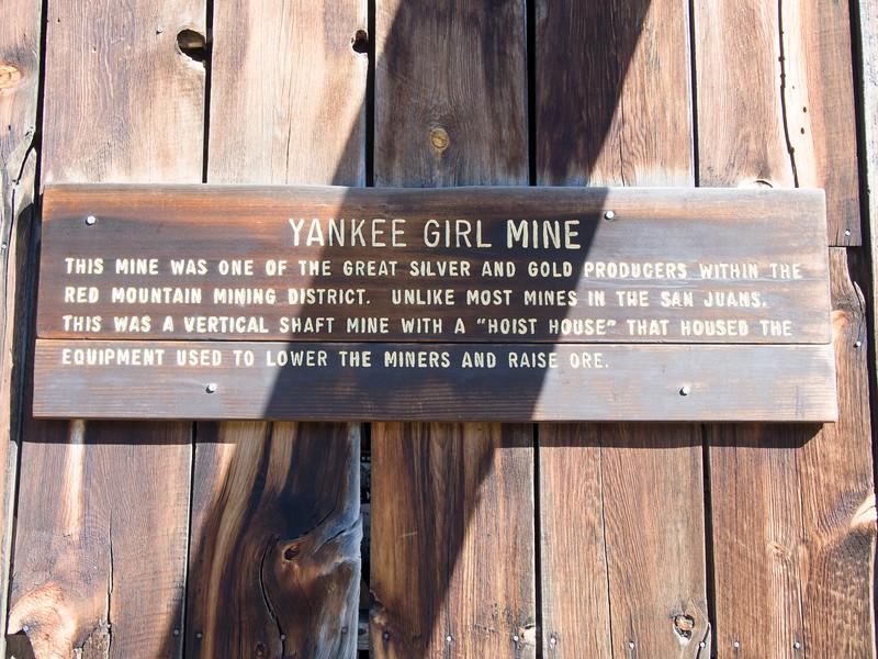 Yankee Girl Mine