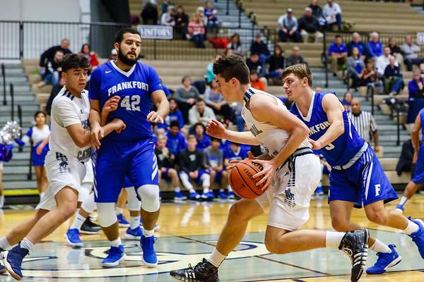 CC Boys Varsity Basketball  vs Frankfort 2017-12-15