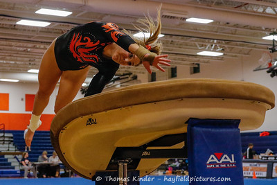 Gymnastics Meet at West Springfield 1/23/19
