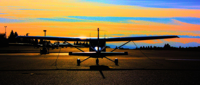 Grass Valley Airport ~ April 2014