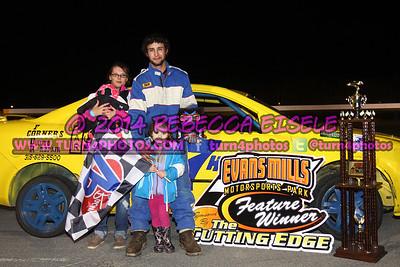 05/10/14 Evans Mills Feature Winners